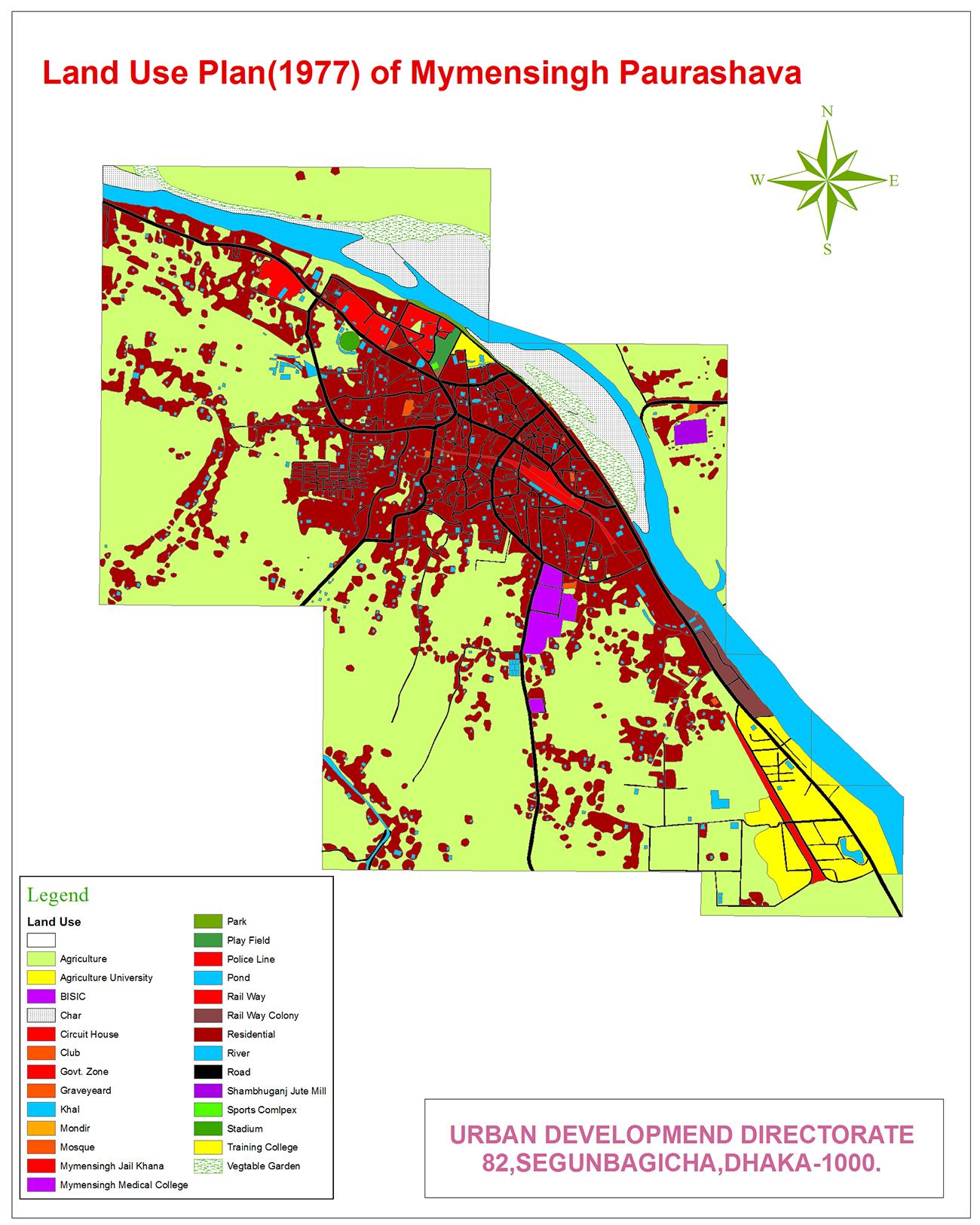Landuse Map 1977